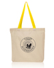 Wholesale Stylish Monogrammed Cotton Shopping Tote Bags