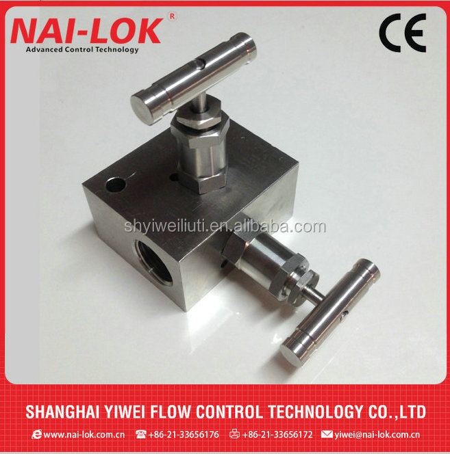 Nitrogen Gas Tested Manifolds Valve with 2 way to 5 way