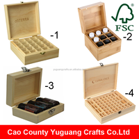 Yuguang Crafts Handmade Wooden Essential Oil Box