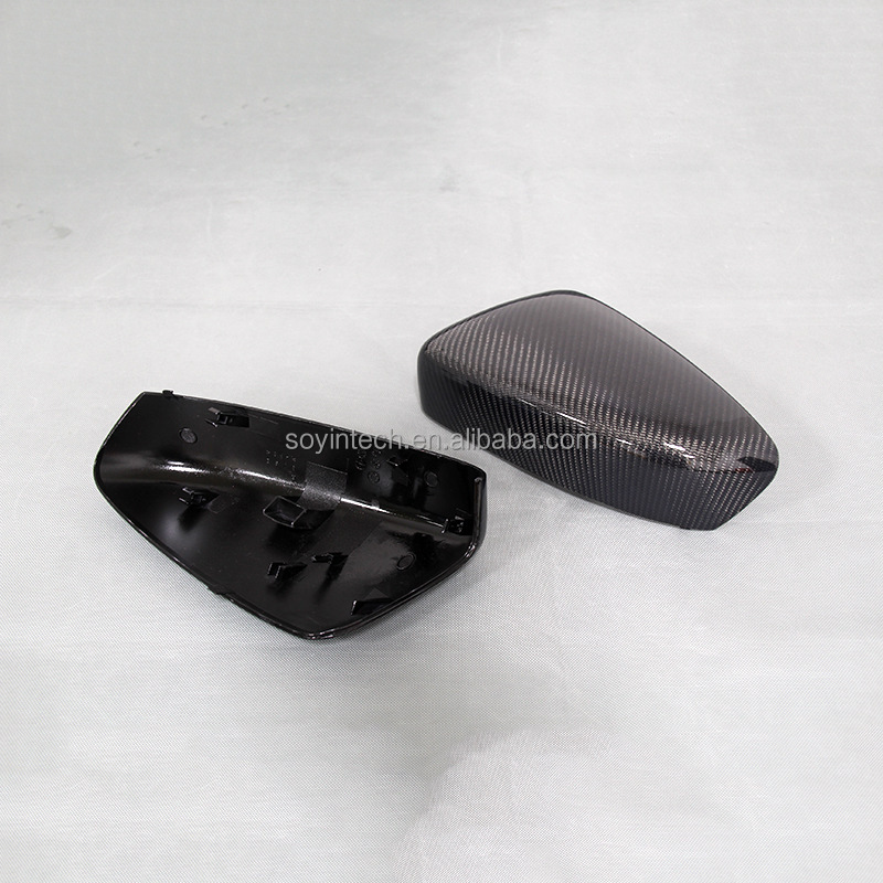 Car Carbon Fiber Cover side mirror replacement for Mazda
