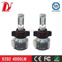 74W 8000lm Sealed beam 5202 H4 LED car headlight bulbs off road car tuning light