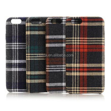 Made by hand jeans fabric cross phone case for iphone 6 factory price