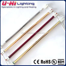 Clear Quartz Infrared Heating Lamp For Painting with CE