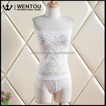 Wholesale Women High Quality Beautiful Froal Lace Sheer Sexy Lingerie
