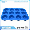 Specialized Silicone Product Manufacture Silicone 12 / 24 Cup Muffin Baking Pan