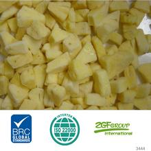 IQF Frozen Fresh dole pineapple in good quality in bulk