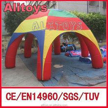 Ali 2015 New design inflatable outdoor tent/Inflatable Spider Tent