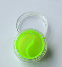 5ml plastic jar with silicone liner weed jar wax/oil cosmetic containers