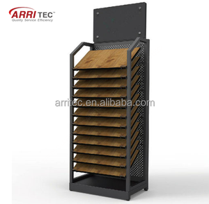 China supplier offer wood timeber floor parquet tile metal display rack