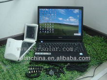 Portable solar power charger for laptop / xoom / notebook / solar charger