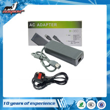 Factory Price Charging Charger Cord Power Supply for XBox 360 Fat Console AC Adapter UK Plug