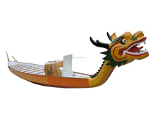 IDBF 22 men model dragon boat with carbon/wooden paddle in different colors Fiberglass rib boat