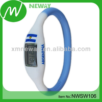 trendy silicone fashion ion sport watch new product