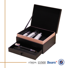 New product best quality lighted professional makeup cases with drawer