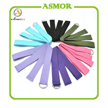 cotton or polyester yoga band