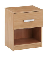 1drawer bedside table in oak color