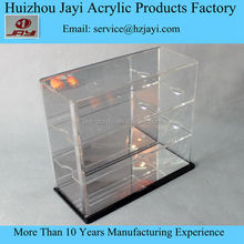 Manufacturer customized 3 tier acrylic display stand with mirror back for toys or model car