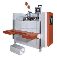 Corrugated carton semi-automatic stitching machine/stapler forming machine