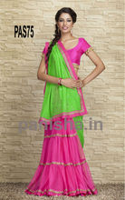Charming colour combination saree
