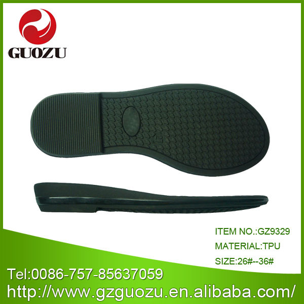 fashion design for child low wedge sandal tpu outsole