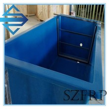 high quality waterproof fiberglass pool/fiberglass fish tank/FRP fish pond
