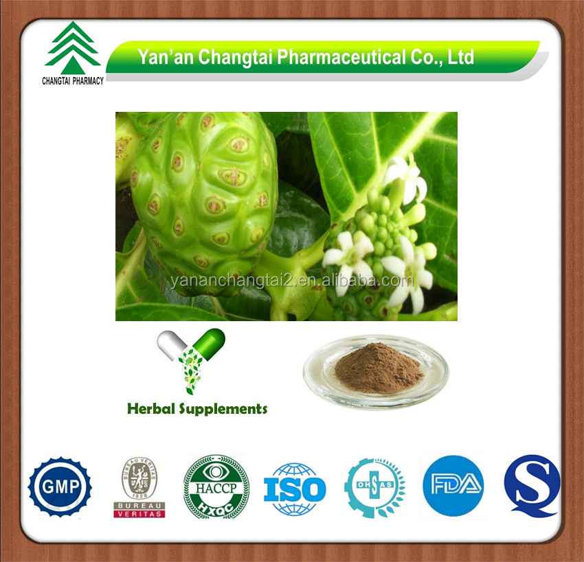 GMP factory supply herb Noni fruit powder Polysaccharide