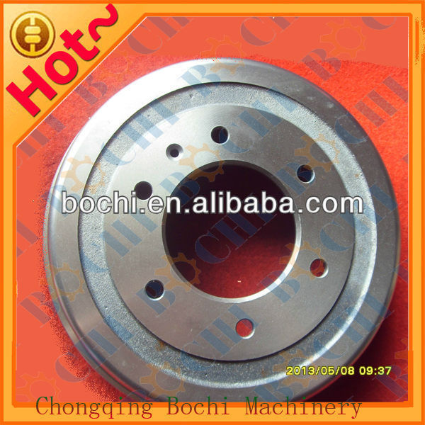 China Best saling top quality auto spare parts customized brake drums used for heavy trucks