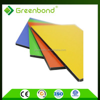 Greenbond wall decorative plastic stone panels aluminum with best price in china