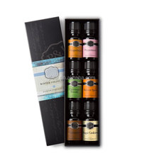 100% Pure Therapeutic Grade Basic Sampler Essential Oil Gift Set