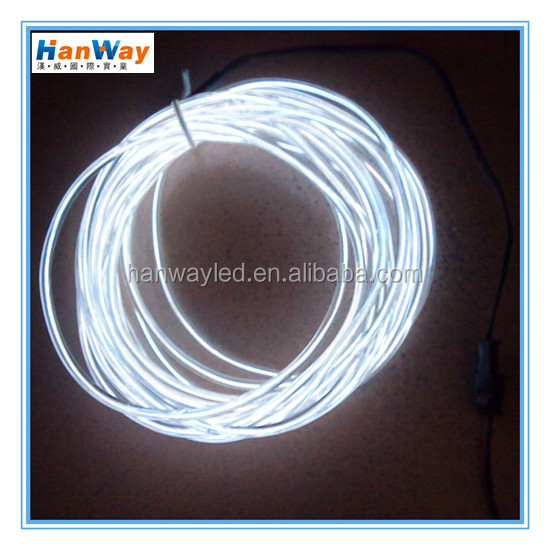 EL light for decorative clothing with waterproof el wire