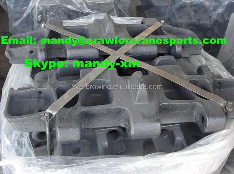 Track Shoe for FUWA QUY50 Crawler Crane Undercarriage Spare Parts