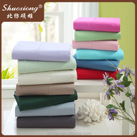 110*90 200 thread count cotton dyed flat sheet from China