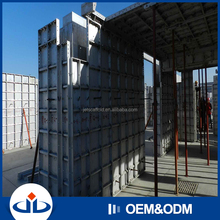 Waterproof And Fireproof 6061-T6 Materials Aluminium Concrete Wall Forms Modular Decking Formwork