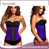 2015 Hot Wholesale Latex Rubber Waist Cincher Underbust Corset SexyLady Body Shaper Plus Size Elegant Slimming Corset Shapewear