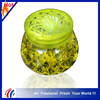 high quality green crystal beads gel air freshener/Circular knitting style lid car air freshener/fresh clean air