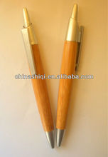Stationary Chinese fat barrel bamboo recycle pen