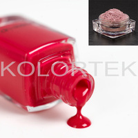 Nail enamel pearlescent pigments,cosmetic pearl nail polish pigments
