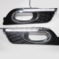 For HONDA Civic 6pcs LED DRL Fog Lamp Daytime Running Light 2012-2014 Year V1