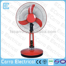 14 inch 12 volt portable fan battery operated table fan with battery CE-12V14AL