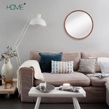 A level fashionable design handmade decorative metal wall mirror for living room