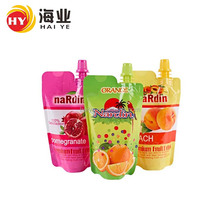 Custom Logo Food Grade Plastic Packaging Bag Stand Up Spout Pouch