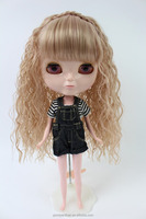 Cheap Factory Price/ Synthetic long curly/ BLYTHE Doll Wig Hair/W-6
