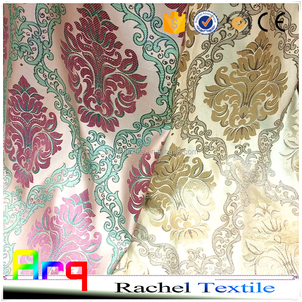 20-year factory modern high quality creative soft fabrics for curtain/ sofa/cushion- silk style