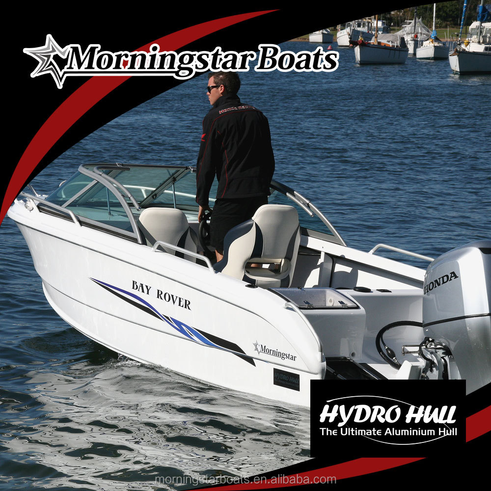5m fishing runabout motor boat