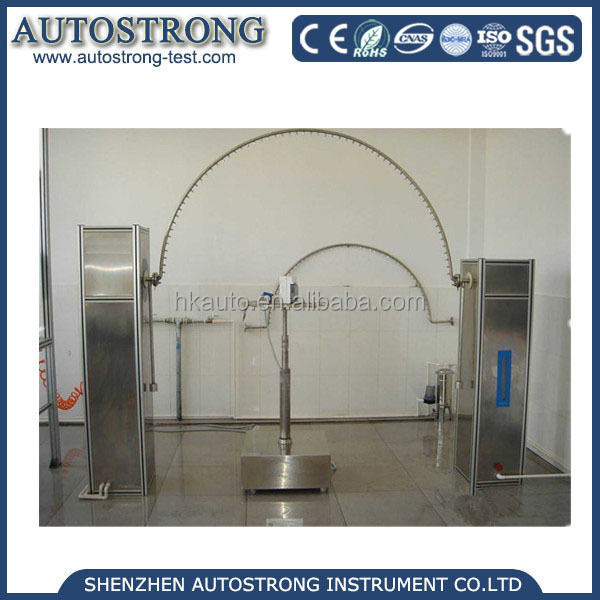 Iec 60529 IPX3/4 Tester /Rock Pipe Shower Testing Instrument lab test machine/waterproofing machine