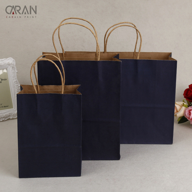 Cheap Wholesale Bulk Brown Kraft Paper Bag for Clothing <strong>Packing</strong>