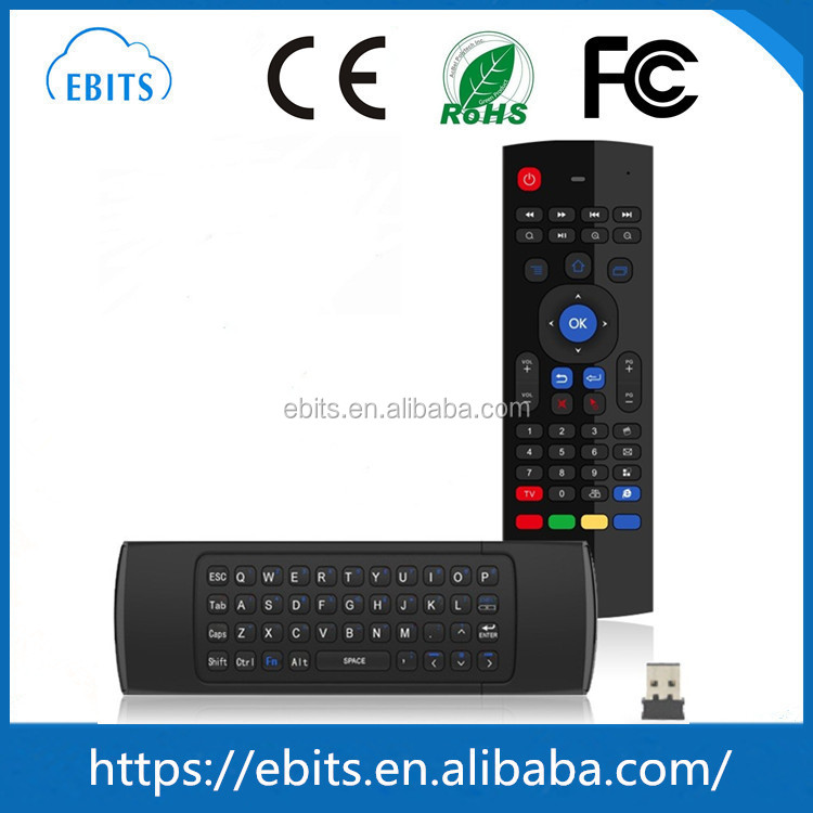 Mini remote controler 2.4g wireless keyboard fly mx3 Air mouse