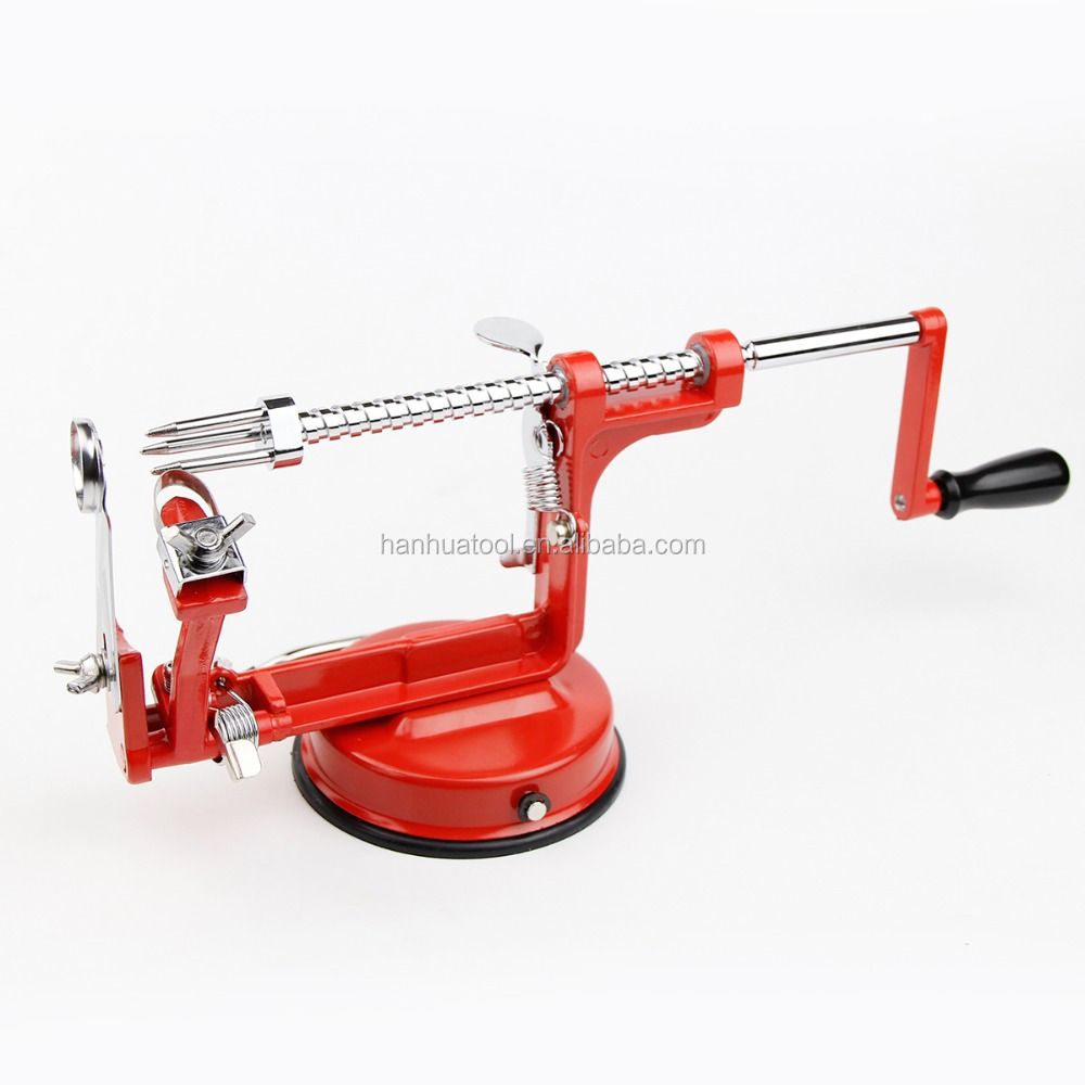 3 in 1 apple peeler fruit peeler slicing machine stainless steel apple fruit zester machine peeled tool Creative Home Kitchen