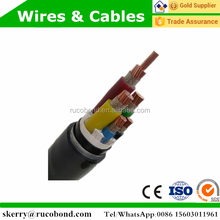 three cores mv copper armoured cable yjv32