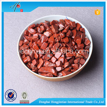 Red Jasper material crystal gravel tumbled stone for home decor